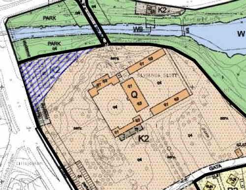 Detalj av plankarta